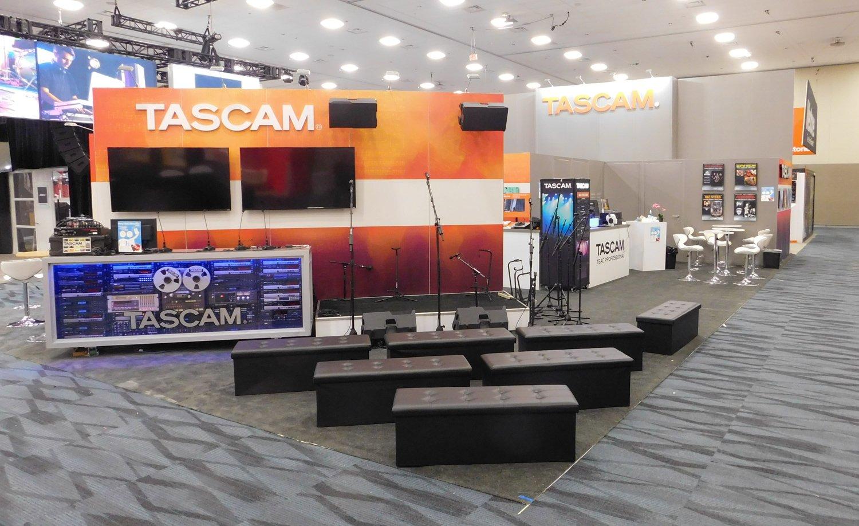 Tascam Showroom