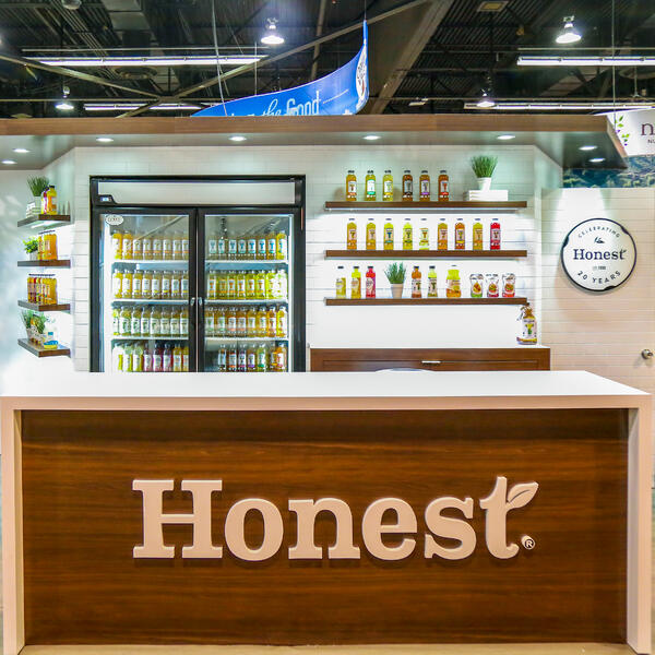 Honest Tea 10x10 Inline Booth