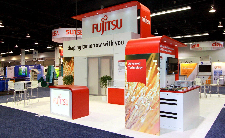 Fujitsu Showfloor