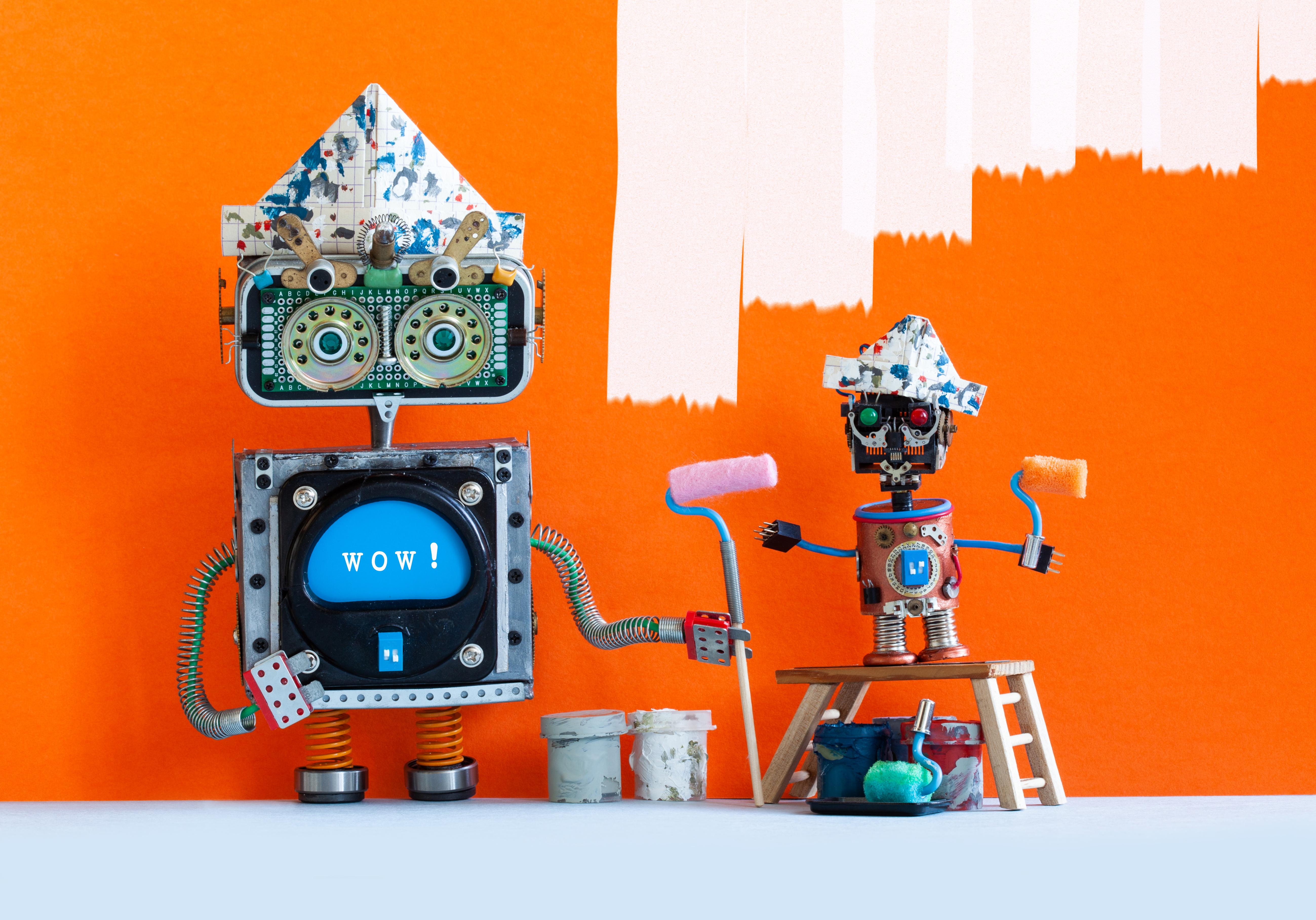 funny-big-and-small-robotic-painters-decorators-653J4WP